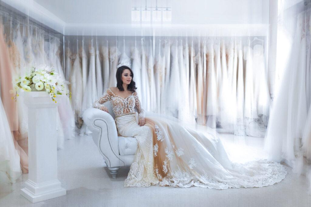 Kauf des Brautkleides Hochzeitskleid