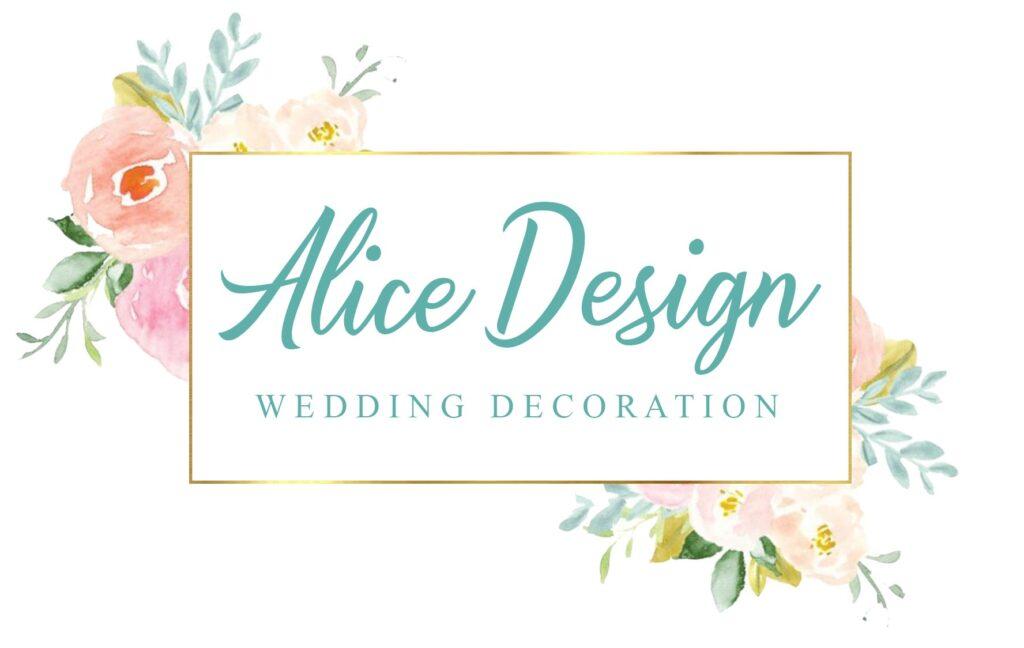 Lieferung Alice Design Hochzeitsdeko München