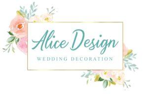 Kontakt Alice Design Hochzeitsdeko München LOGO