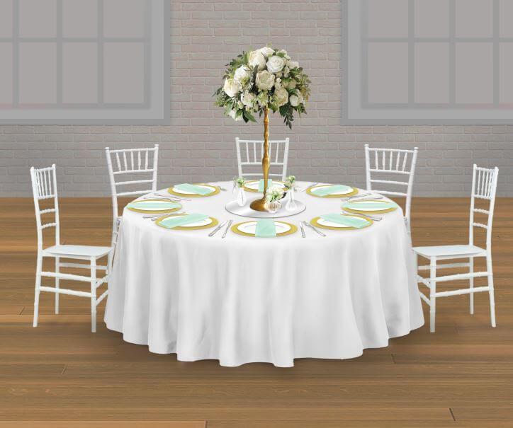 Skizze Gästetisch Probetisch Hochzeit