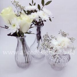 Kleine Glasvase mieten
