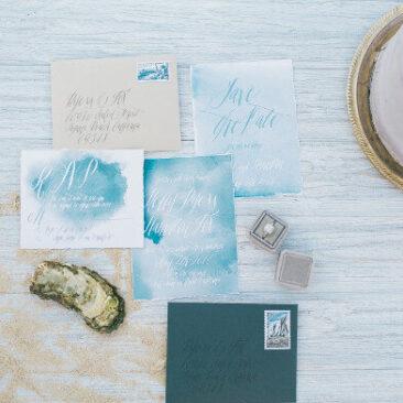 Einladungen Hochzeit meer
